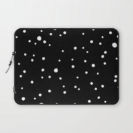 Black Rock Star Field Laptop Sleeve