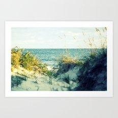Hatteras Dunes Art Print