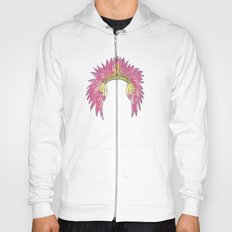 Watercolor Headdress Hoody