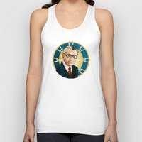 kurt rahn Tank Tops featuring Kurt Gödel by Renee Bolinger