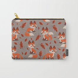 Cute Foxes Carry-All Pouch