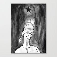 Lazarus 2 - Bowie Blackstar tribute, version Canvas Print