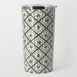 Batik Sido Luhur - Authentic Traditional Pattern Travel Mug