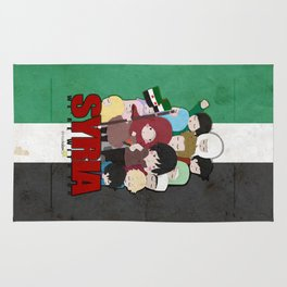 SYRIA - We're With You Rug