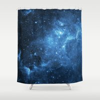 galaxy Shower Curtains featuring Galaxy by Space99