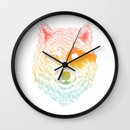 I Dream in Solitude Wall Clock