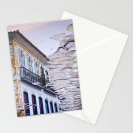 Water mirror in Paraty Stationery Cards