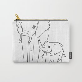 elephant cub Carry-All Pouch