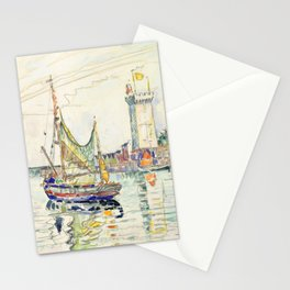 "Paul Signac ""View of Les Sables d'Olonne"" Stationery Cards"