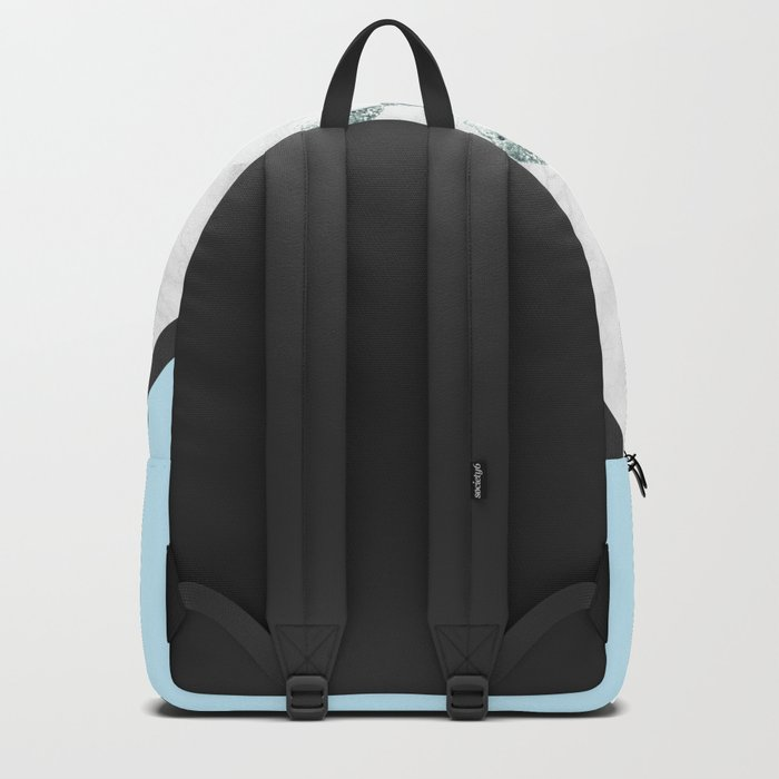 Scandinavian Marble Backpack