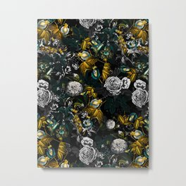 EXOTIC GARDEN - NIGHT Metal Print