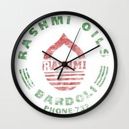 Rashmi Oils Vintage Wall Clock