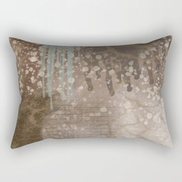 Splash of Textures Rectangular Pillow