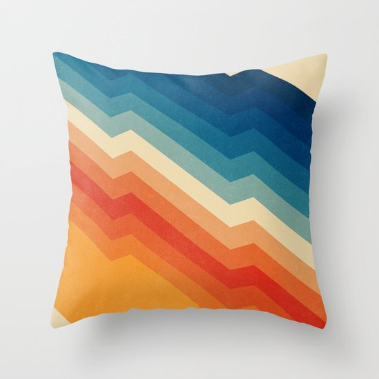 Throw Pillow Covers Society6 : Barricade Throw Pillow by Tracie Andrews Society6