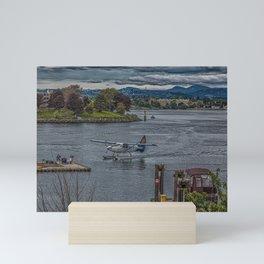 Harbour Air in Victoria Mini Art Print