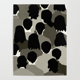 The Monotone Crowd Poster