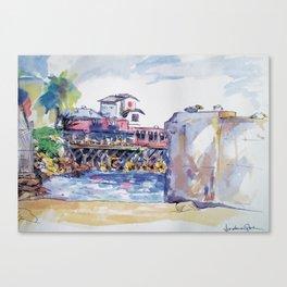 Cannery Row Canvas Print