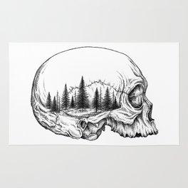 SKULL/FOREST Rug