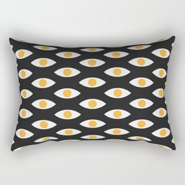 eye pattern Rectangular Pillow