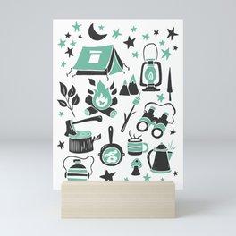 Camp Life Mini Art Print
