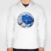 lunar Hoodies featuring Lunar Incantation by Diogo Verissimo