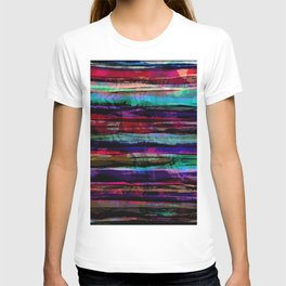 bohemian abstract painting T-shirt