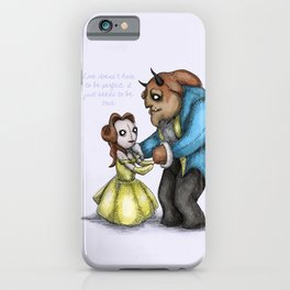 Plushie & The Beast iPhone Case