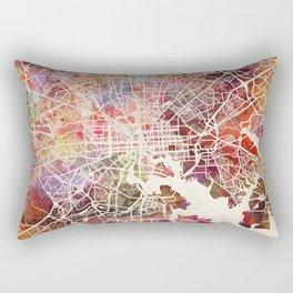 Baltimore map Rectangular Pillow