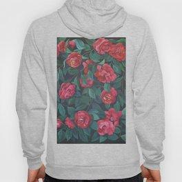 Camellias, lips and berries. Hoody
