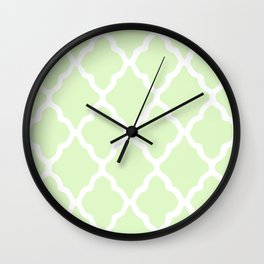 White Rombs #10 The Best Wallpaper Wall Clock