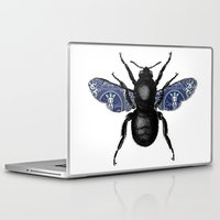 bug Laptop & iPad Skins featuring BUG by shirleyabramson
