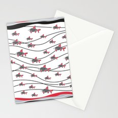 Fish fish fish Stationery Cards