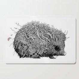 Leaf Hedgehog Cutting Board