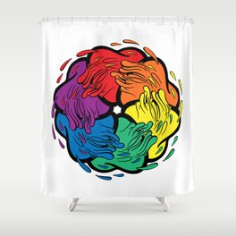 Pride Love Movement Shower Curtain
