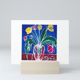 Tulip Time          by Kay Lipton Mini Art Print
