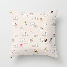 Shoe-Box Throw Pillow