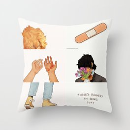 Solace - Aesthetic Throw Pillow