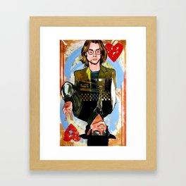 River/MJ Framed Art Print
