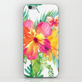 Floral paradise iPhone Skin