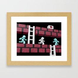 Inside Lode Runner Framed Art Print