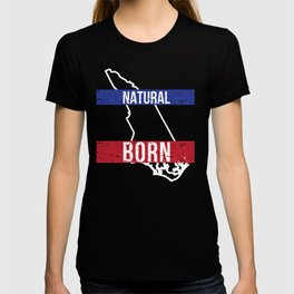 NC North Carolina Native Gift for Home State Pride Residents from Charlotte, Raleigh, Greensboro T-shirt