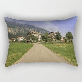 The beautiful Dolomites Rectangular Pillow