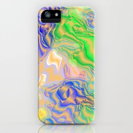 many colorful strokes painted iPhone Case
