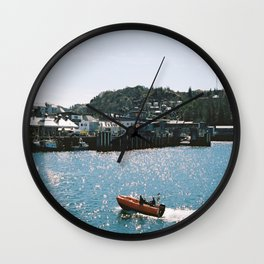 Sparkling Sea Wall Clock