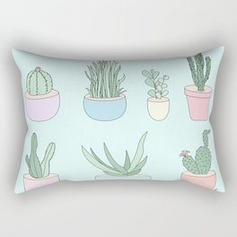 I Have A Things With Cactus Rectangular Pillow