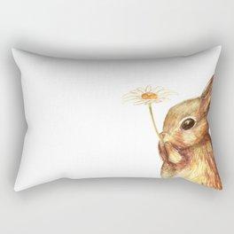 Little bunny Rectangular Pillow