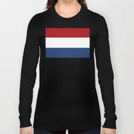 The Netherlands Flag / The Dutch Flag Long Sleeve T-shirt