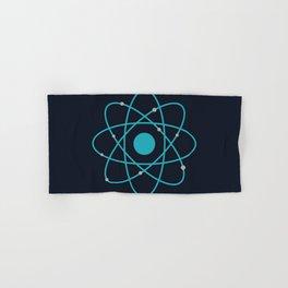Atom, Molecules, DNA, Science decor, science class Hand & Bath Towel