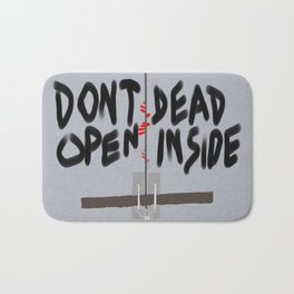 Don't Open Dead Inside, Walking Dead  Bath Mat