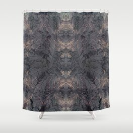 all the crazy feathers Shower Curtain